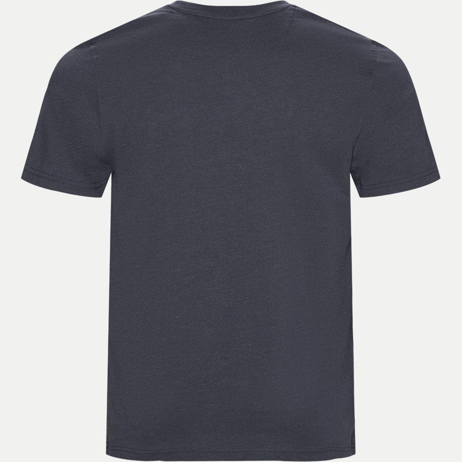 WALTHER LOGO - T-shirts - Regular - BLÅ MEL. - 2